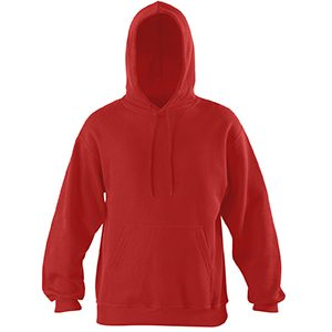 Rode trui met logo of tekst